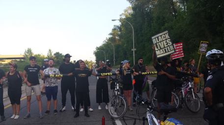 Image from the Black Lives Matter - Toronto Coalition
